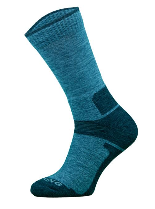 Blue Midweight Trekking Socks