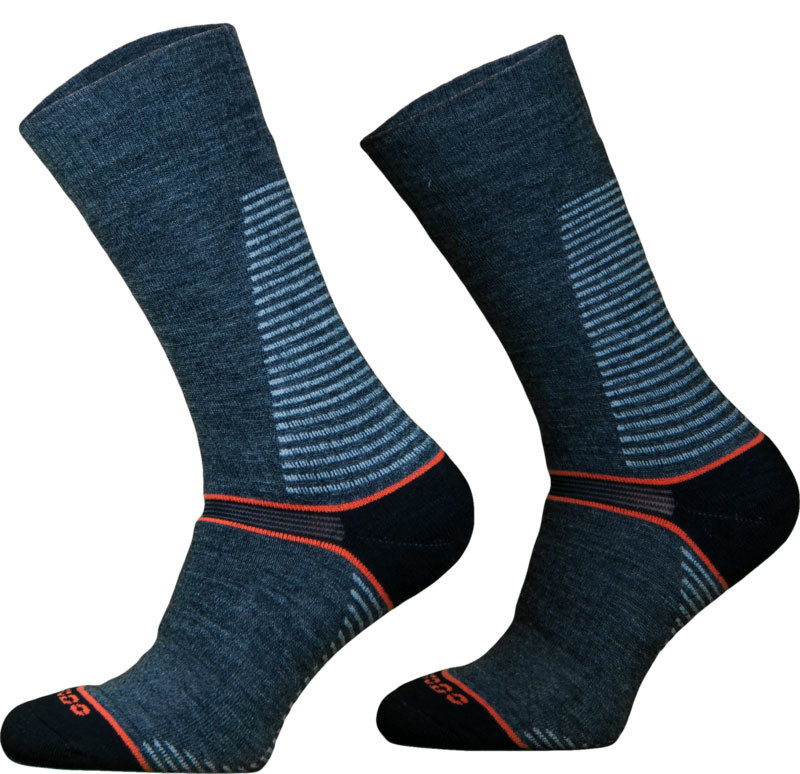 Dark Grey CLIMACONTROL Performance Hiking Socks