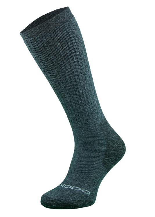 Dark Grey Heavyweight Alpaca Merino Wool Hiking Socks