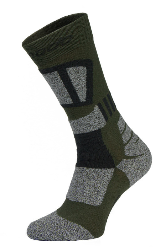 Green and Grey Drytex Trekking Socks