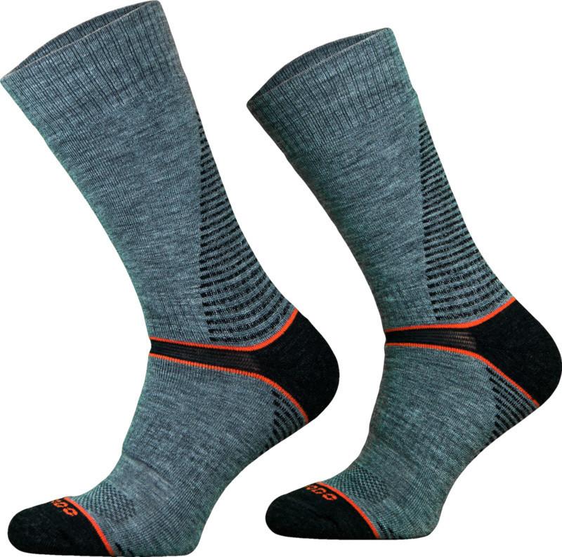 Grey CLIMACONTROL Performance Hiking Socks
