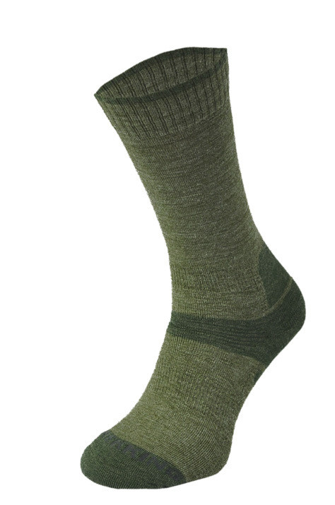 Khaki Midweight Trekking Socks