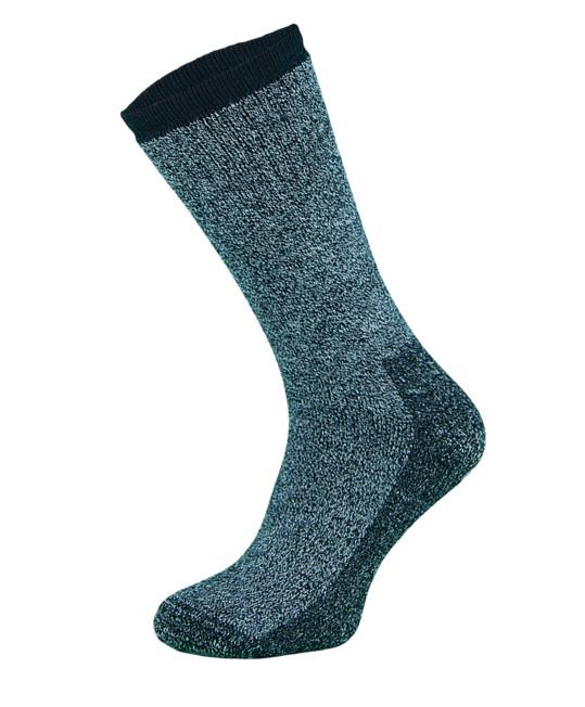 Grey Merino Wool Trekking Socks