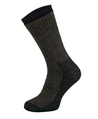 Khaki Merino Wool Trekking Socks