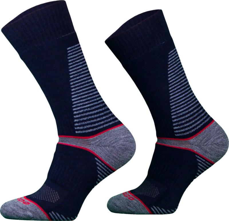 Navy CLIMACONTROL Performance Hiking Socks