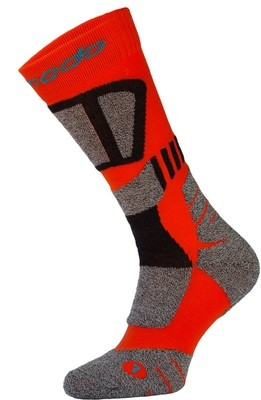 Red and Black Drytex Trekking Socks