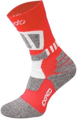 Red and White Drytex Trekking Socks