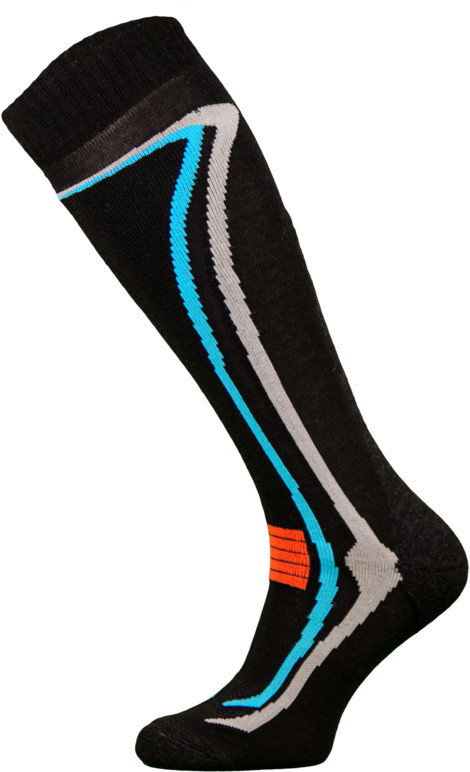 Black Climacontrol Performance Ski Socks