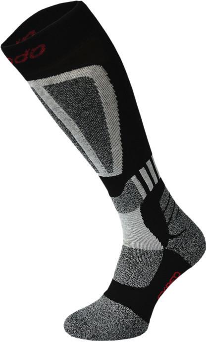 Grey and Black Ski Socks