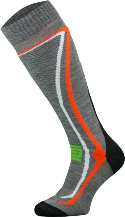Grey Climacontrol Performance Ski Socks
