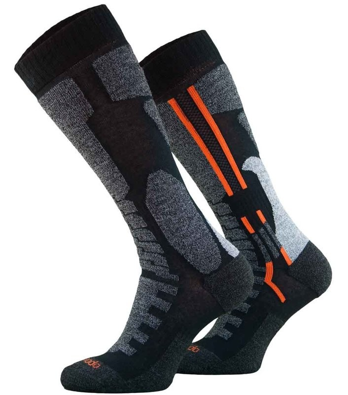 Black Motorbike Socks