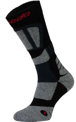 Black and Grey Motorbike Socks