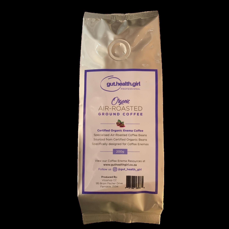 Gut Health Girl Organic Enema Coffee Grounds