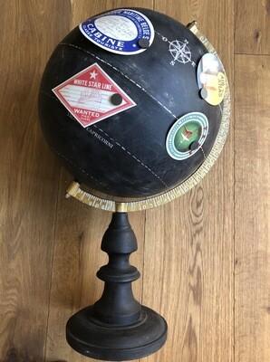 Globe Méridien Noir