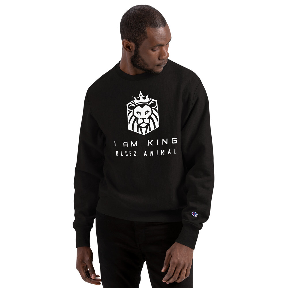I Am King Champion Sweatshirt