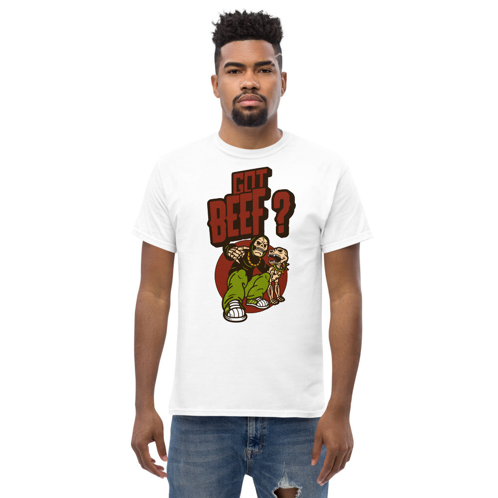 Got Beef ? Men's heavyweight tee