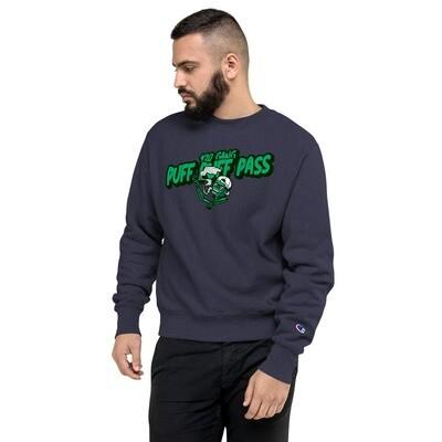 Puff Puff Pass 420 GangChampion Sweatshirt