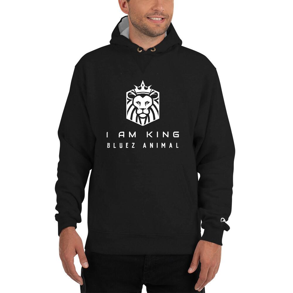 I Am King Champion Hoodie