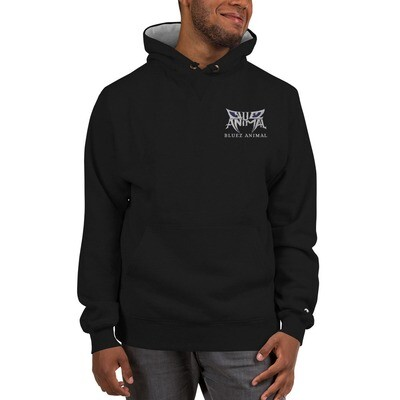 Bluez Animal Embroidered  Champion Hoodie