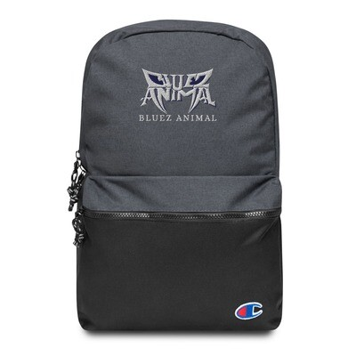Bluez Animal Embroidered Champion Backpack