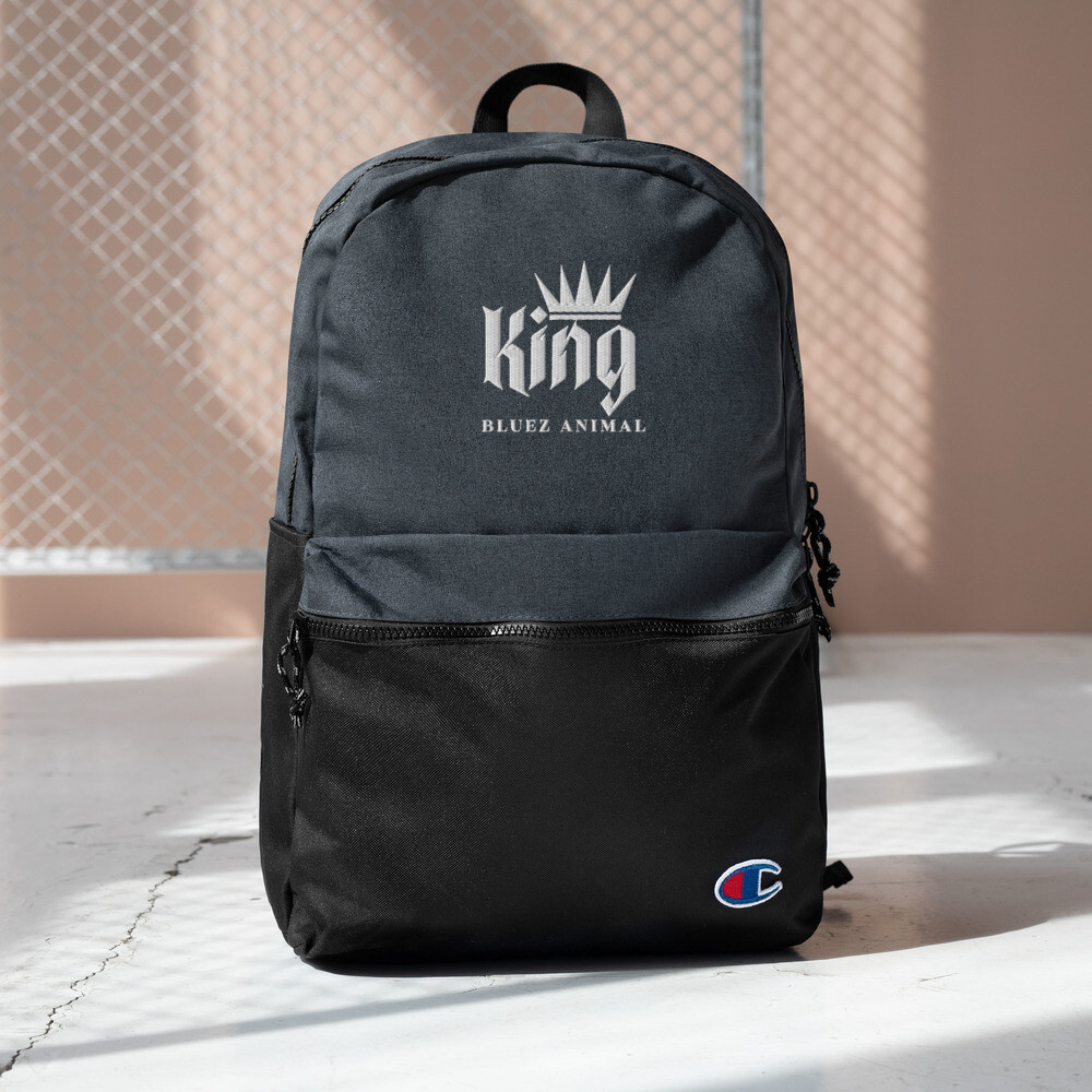 Bluez Animal King Embroidered Champion Backpack
