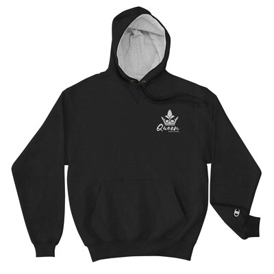 Bluez Animal Queen Embroidered  Champion Hoodie