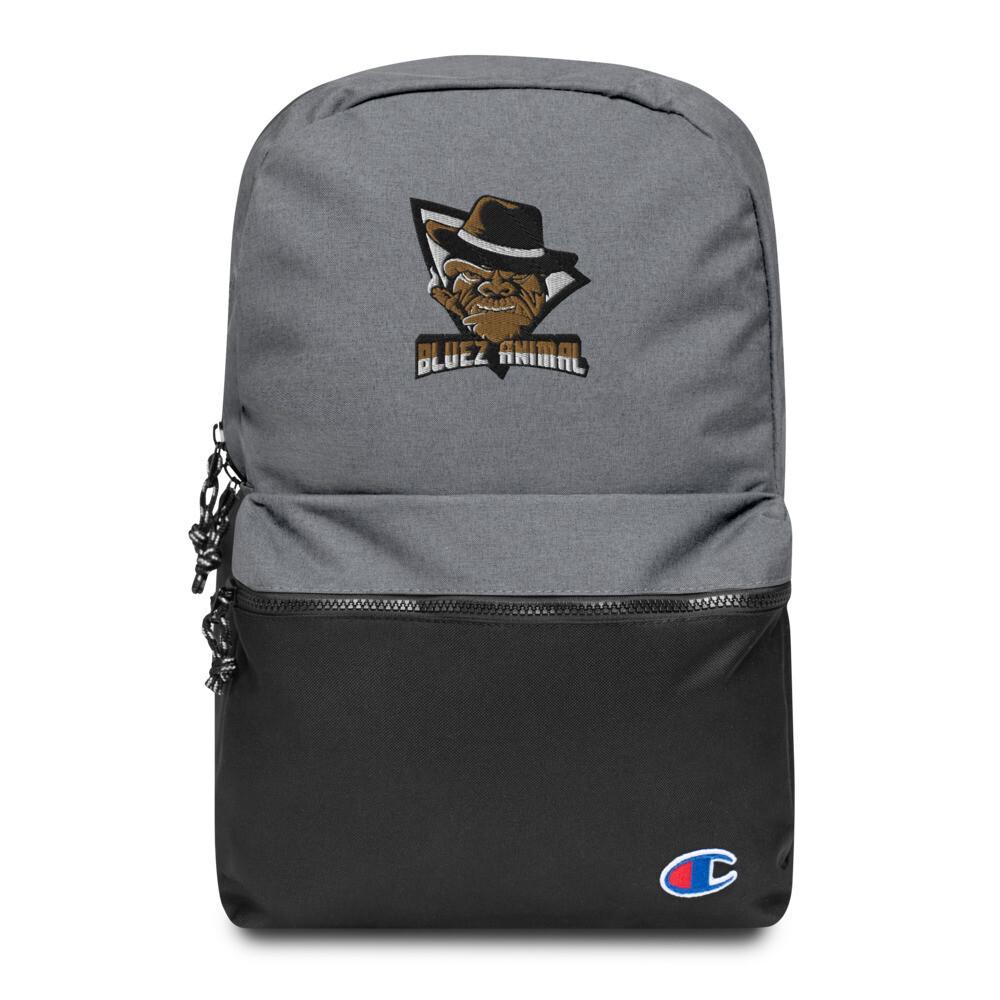"""Bluez Animal """"OG"""" Embroidered Champion Backpack"""