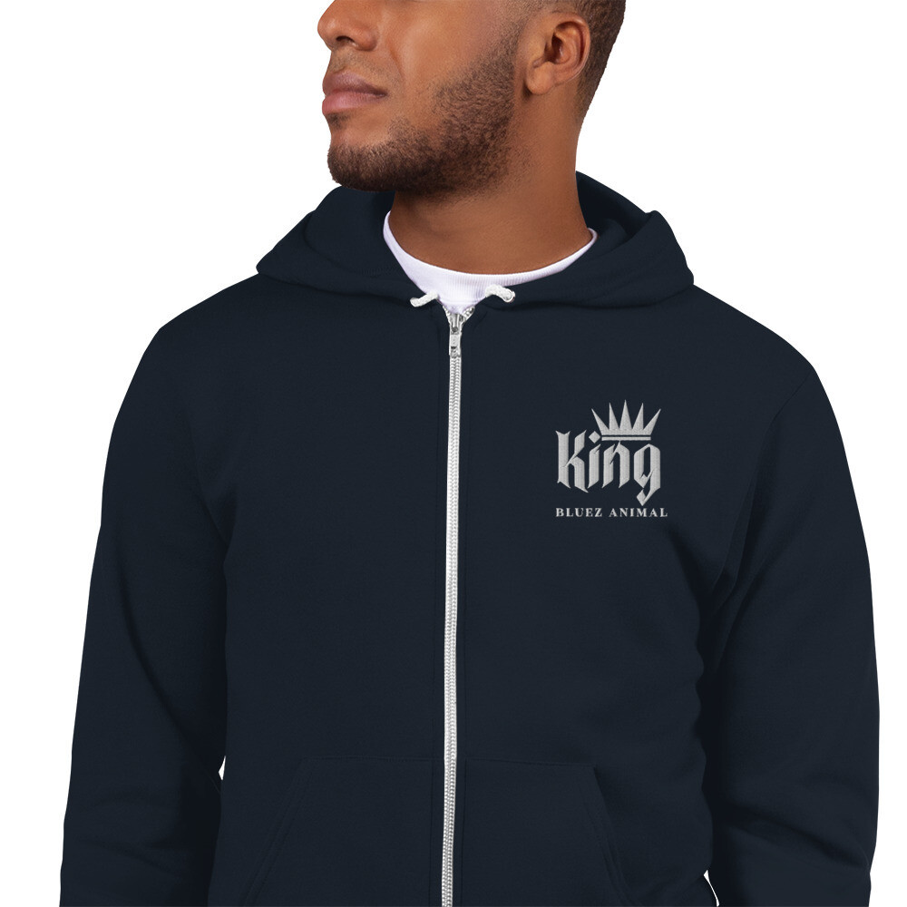 Bluez Animal King Embroidered Hoodie sweater