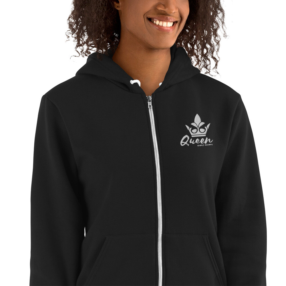 Bluez Animal Queen Embroidered Hoodie sweater