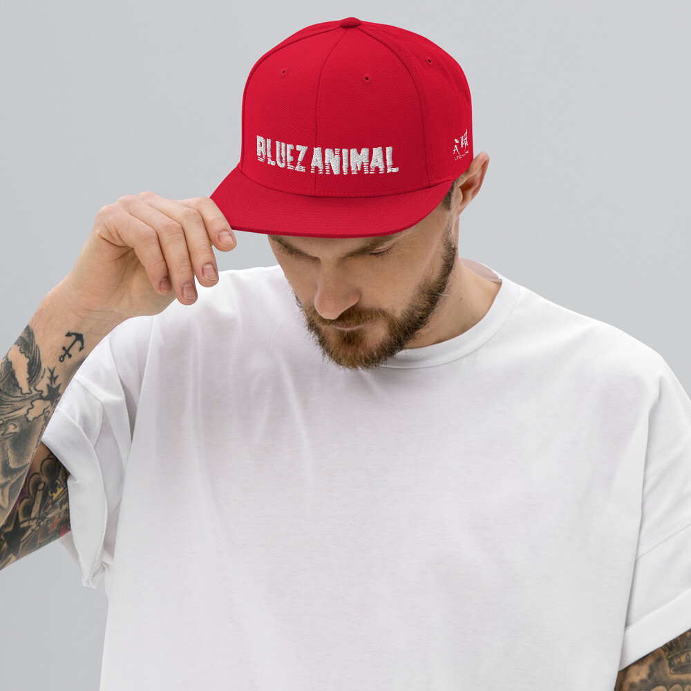 Bluez Animal Snapback Hat