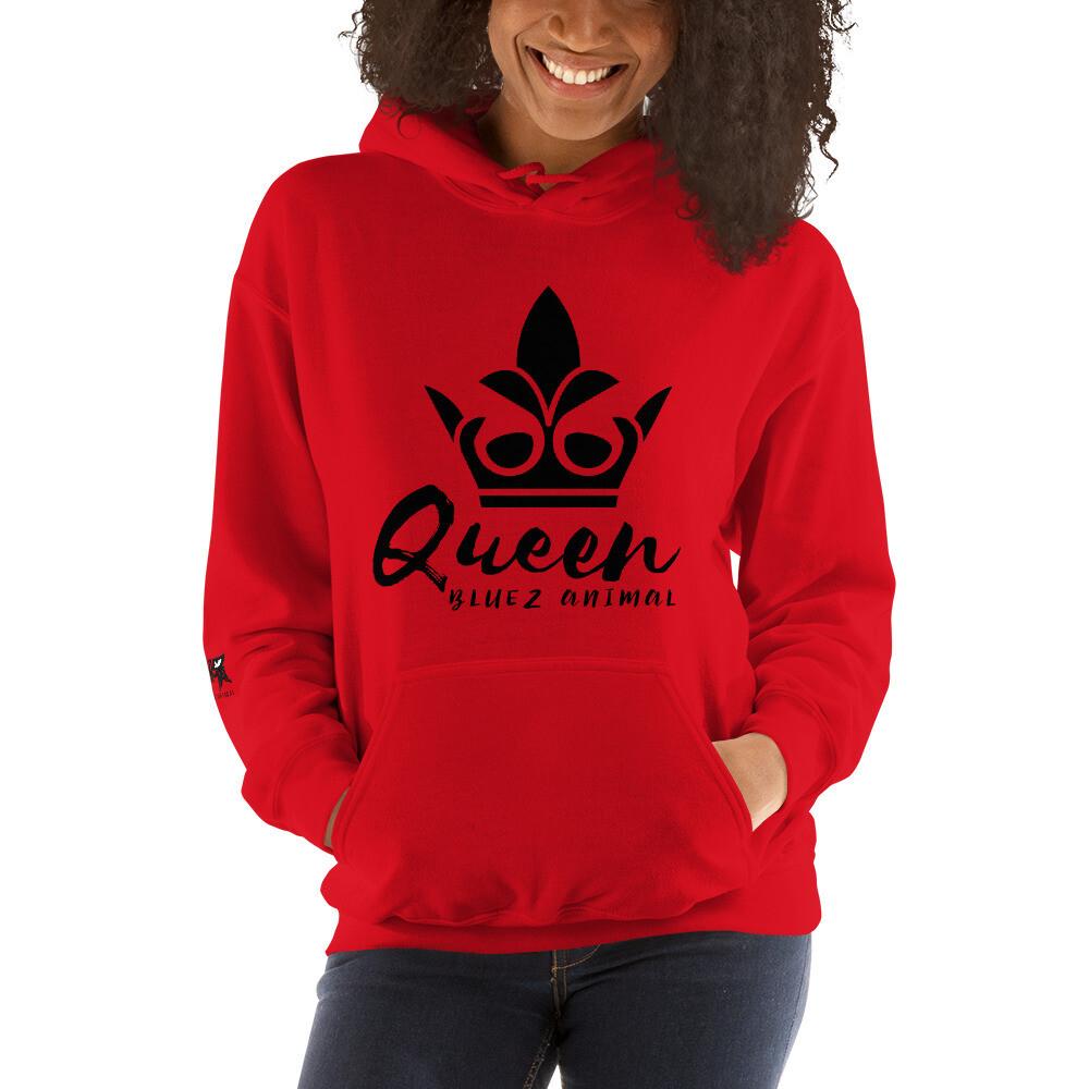 Bluez Annimal Queen Unisex Hoodie