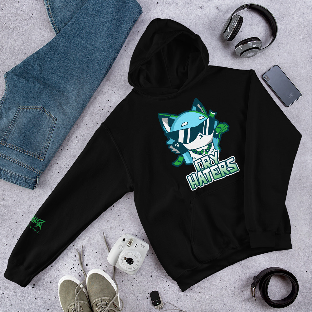 Bluez Animal Cry Haters Unisex Hoodie