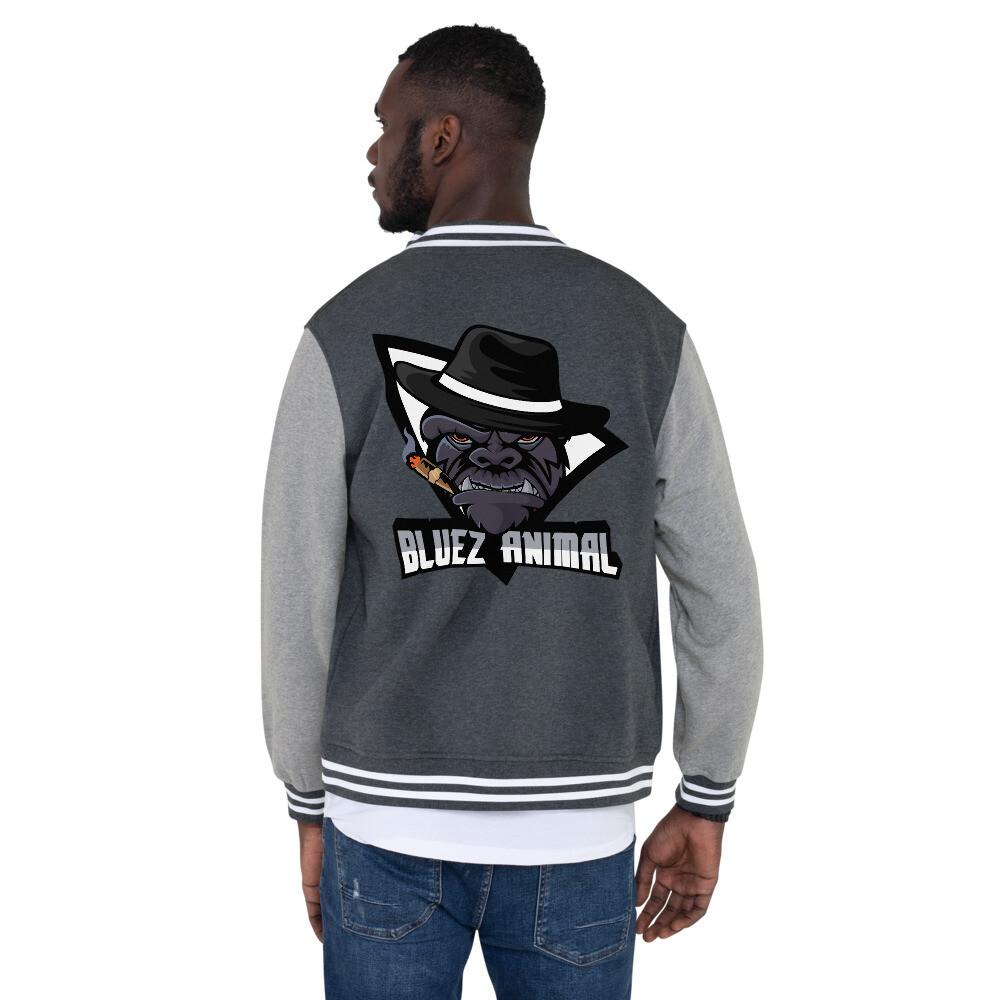 """Bluez Animal """"OG"""" Men's Letterman Jacket"""
