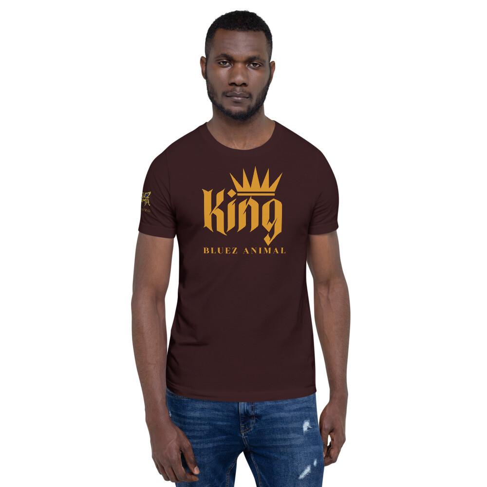 """King""Short-Sleeve Unisex T-Shirt"