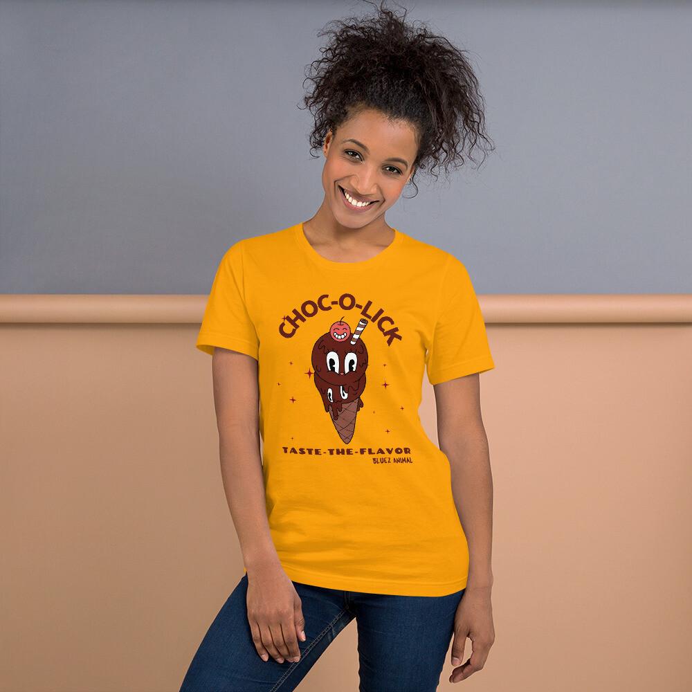 """Choc--Lick"" Short-Sleeve Unisex T-Shirt"