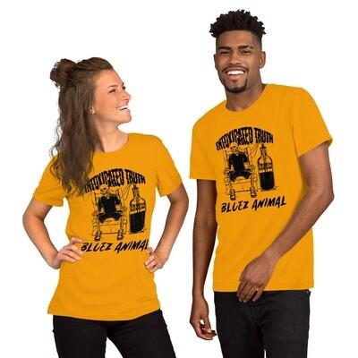 """Bluez Animal """"Intoxicated Truth"""" Short-Sleeve Unisex T-Shirt"""