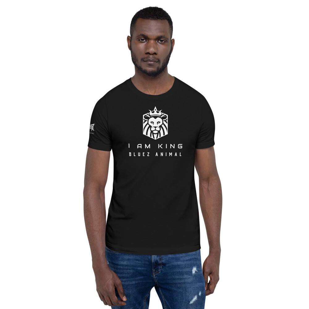 """""""I Am King"""" Short-Sleeve Unisex T-Shirt"""