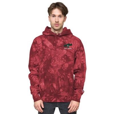 420 Gang Unisex Champion tie-dye hoodie