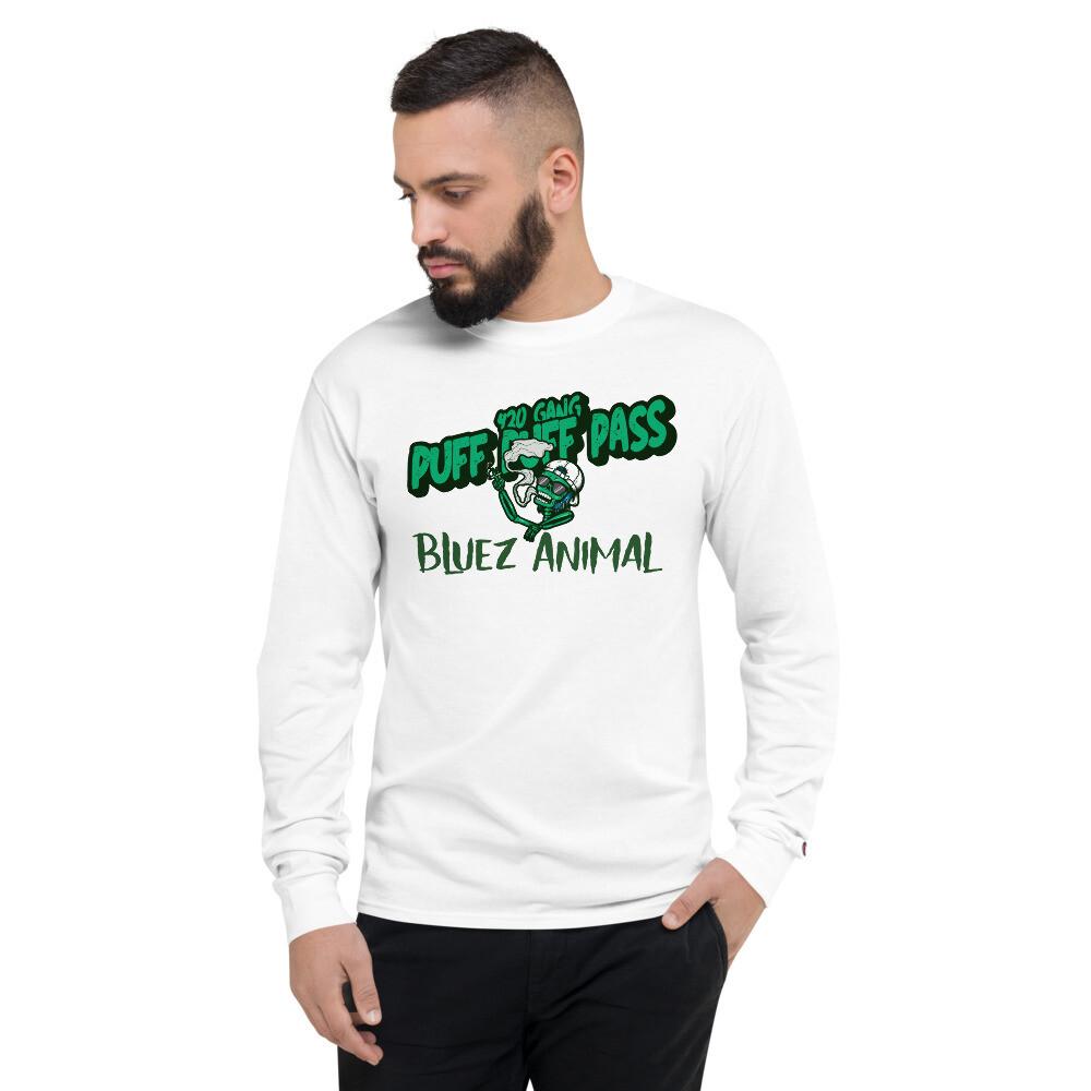 420 Gang Men's Champion Long Sleeve Shirt
