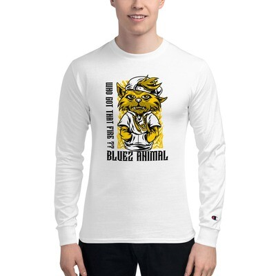 Fire Men's Champion Long Sleeve Shirt