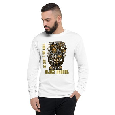 Think Big Men's Champion Long Sleeve Shirt
