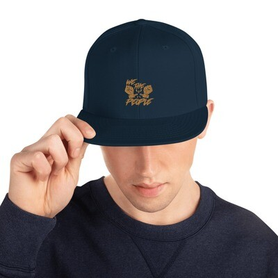 Embroidered We The People Snapback Hat