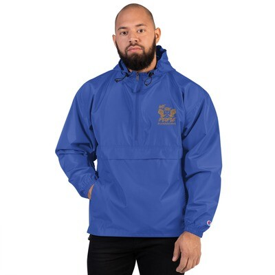 We The People Embroidered Champion Packable Jacket