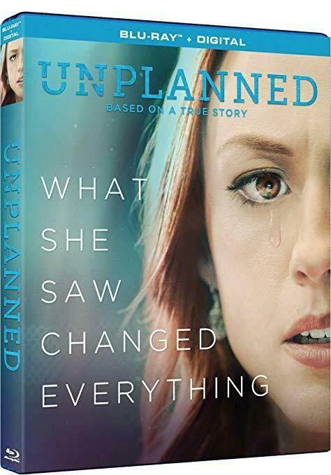 Unplanned - DVD+BLU-RAY+1x DIGITAL DOWNLOAD+BEAUTIFUL UNPLANNED SLEEVE