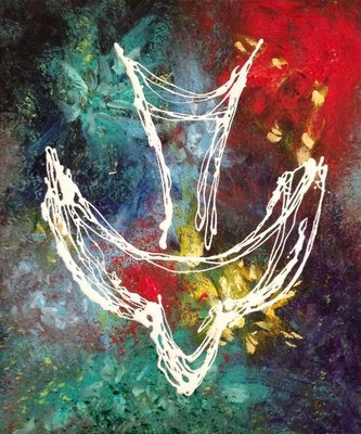 Holy Spirit - Abstract Art Print