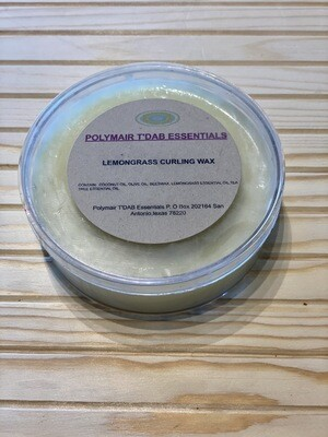 Lemongrass Curling Wax