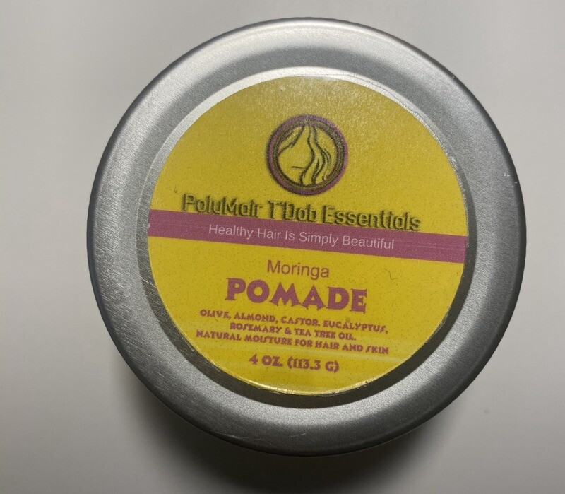 PolyMair T'Dab Essentials Moringa Pomade