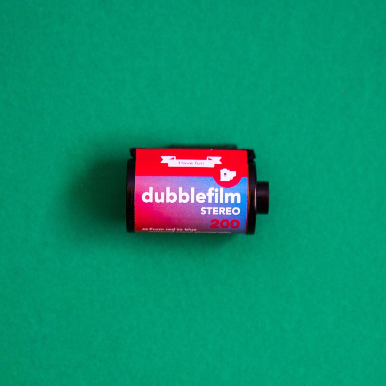 Dubble Film - Stereo 35mm 36 Exposures