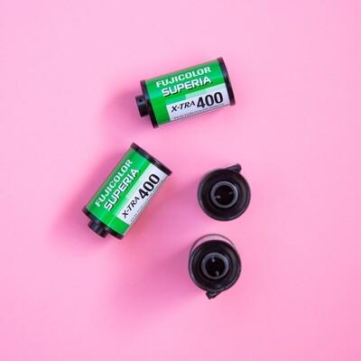 Fujicolor Superia X-TRA 400 35mm 36 Exposures