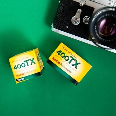 Kodak TRI-X 400 35mm 36 Exposures